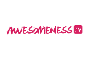 Awesomeness TV Logo | Rubber Duck Creative