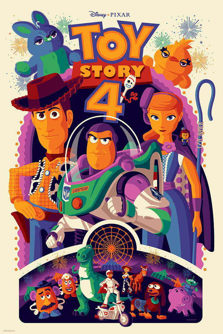Toy Story 4 by Disney Pixar